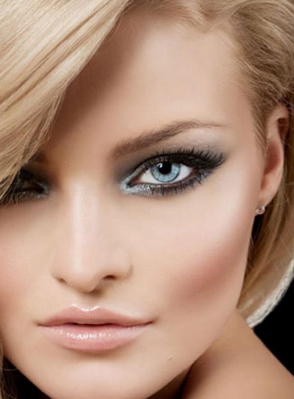 Как сделать на фото светлые глаза