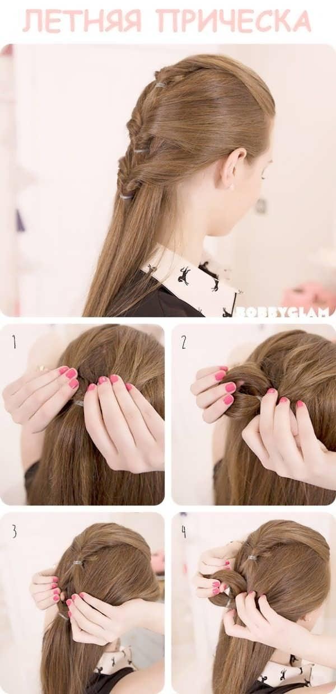Schnelle Frisuren Für Sich Styling Von Langen Haaren Für Jeden Tag